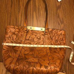 """Patricia Nash LargeNWT GREAT bag 18.5topX6""""B Width"""